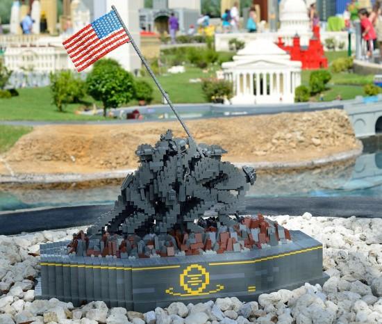 Miniland at LEGOLAND Florida.