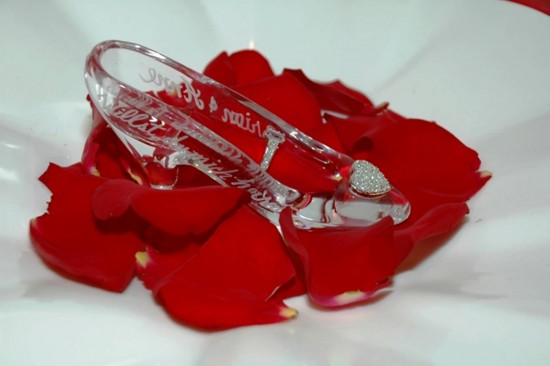 Cinderella's Royal Table glass slipper.c