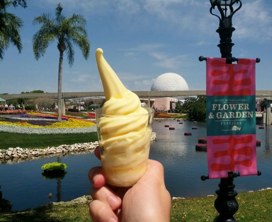 Dole Whip with spiced rum at this year's Flower & Garden Festival.