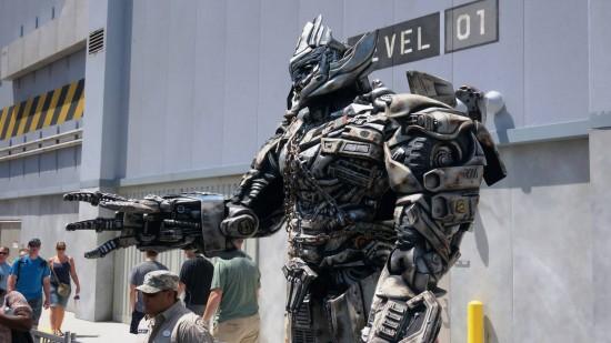 Megatron at Universal Studios Florida.