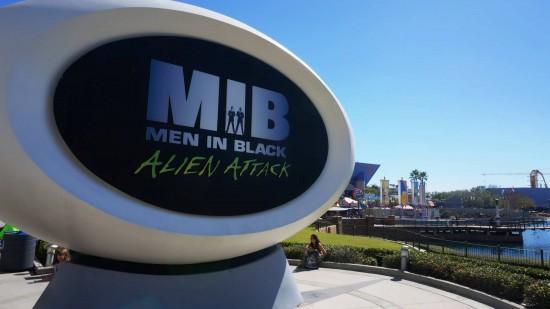 MEN IN BLACK Alien Attack at Universal Studios Florida.