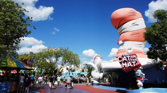 Seuss Landing and Cat in the Hat.