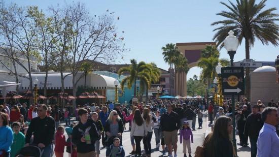 Spring Break at Universal Orlando.