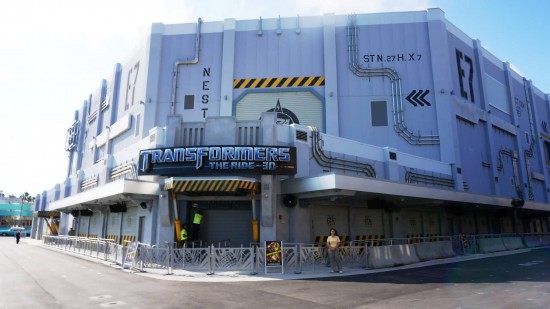 Transformers opening soon at Universal Orlando.