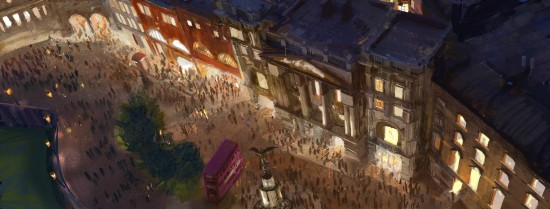 The Wizarding World of Harry Potter - Diagon Alley waterfront.
