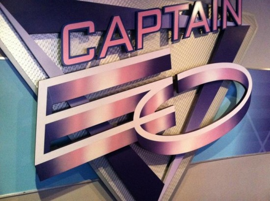 Captain EO at Epcot.