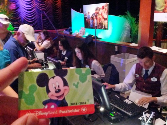 Disney swaps old APs for RFID tickets at Epcot.