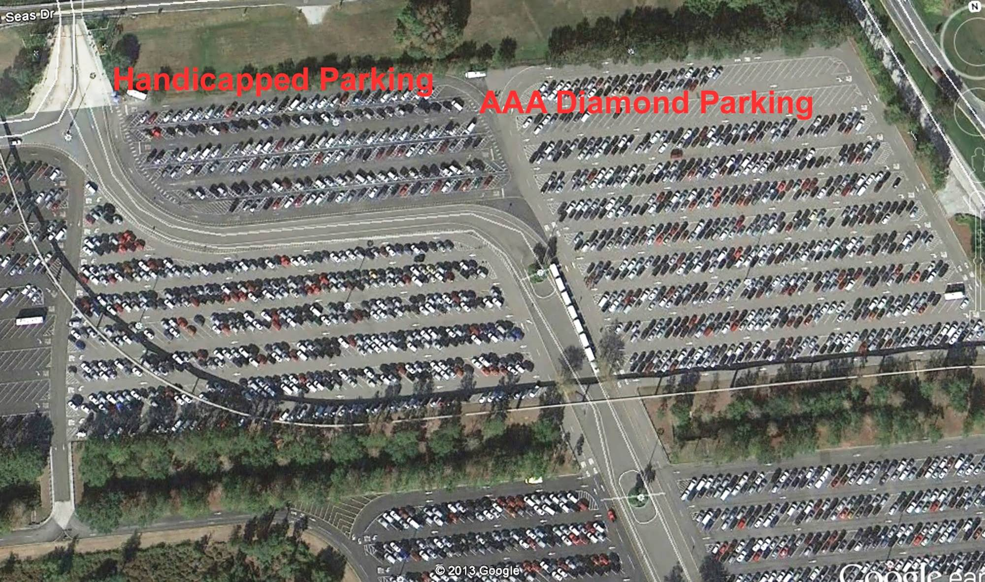 Special Needs Are Universal Handicapped Parking At Walt