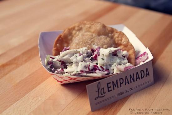 La Empanada Food Truck.