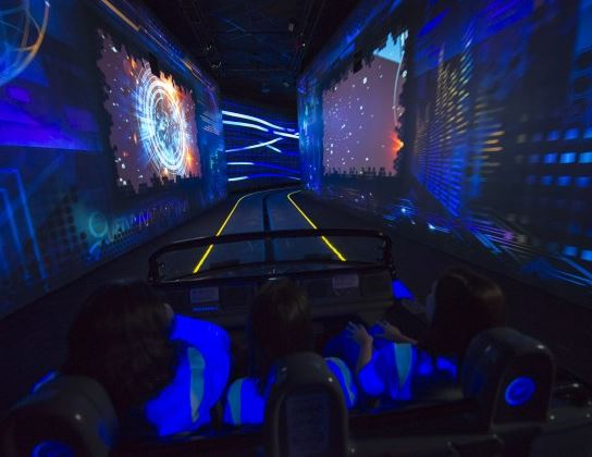 The new Test Track at Epcot.