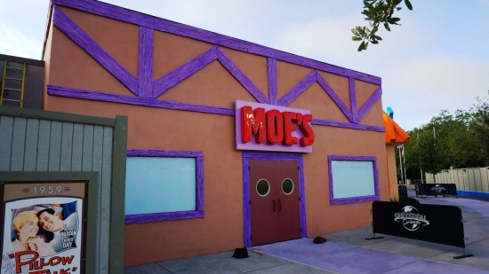 The Simpsons expansion at Universal Studios Florida.