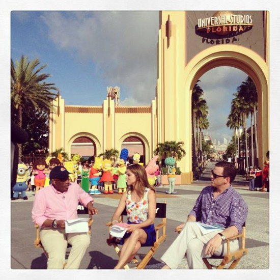 TODAY Show live at Universal Orlando.