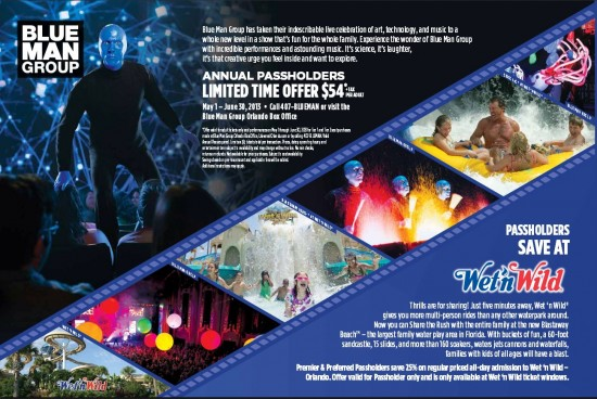 Universal Orlando PASSPORT - Summer 2013.
