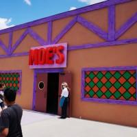 The Simpsons Fast Food Blvd at Universal Studios Florida.