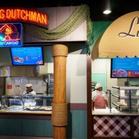 The Simpsons Fast Food Blvd overview.