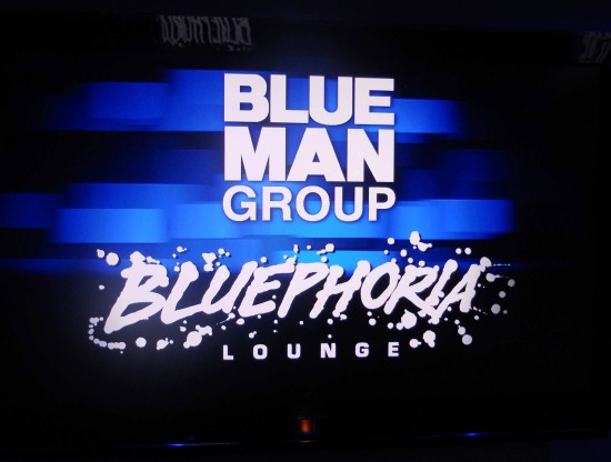 Bluephoria Lounge at Blue Man Group - Universal Orlando.