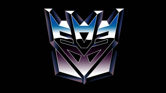 Decepticon logo from G1.