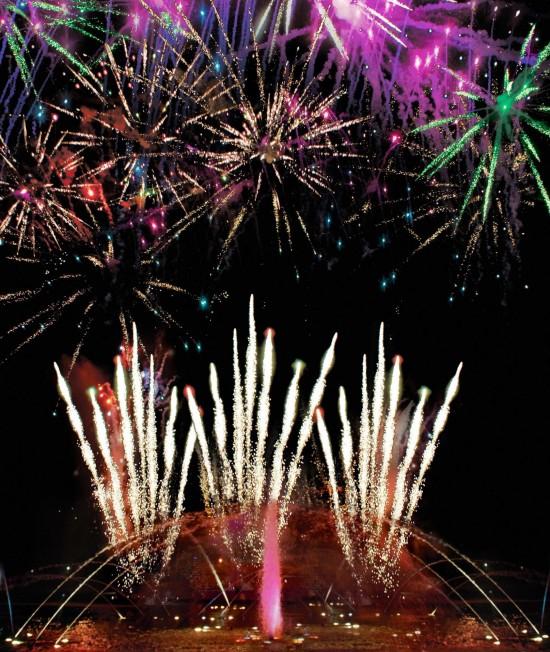 SeaWorld Summer Nights fireworks.