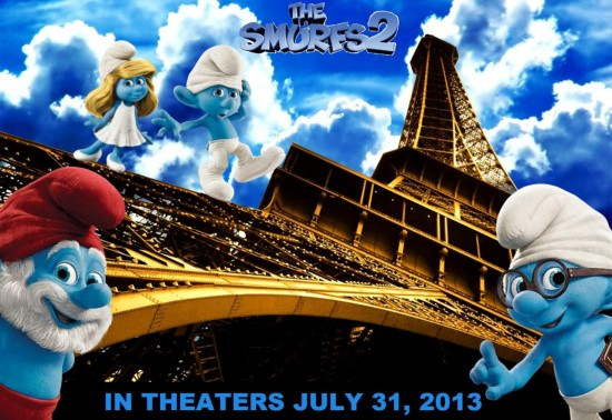 The Smurfs 2 coming to theaters July 31, 2013.