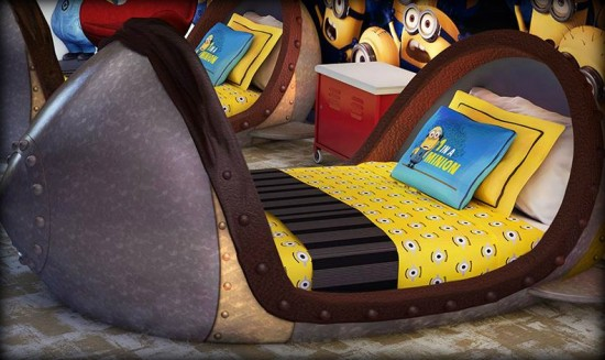 Despicable Me missile bed.