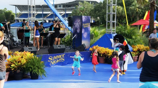 SeaWorld Orlando Summer Nights.