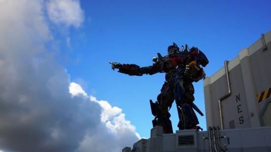 Transformers: The Ride 3D at Universal Studios Florida.
