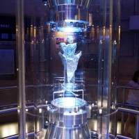 Transformers queue room 2: AllSpark showcase.