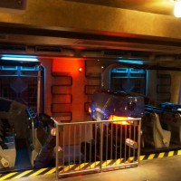 Transformers loading/unloading areas.