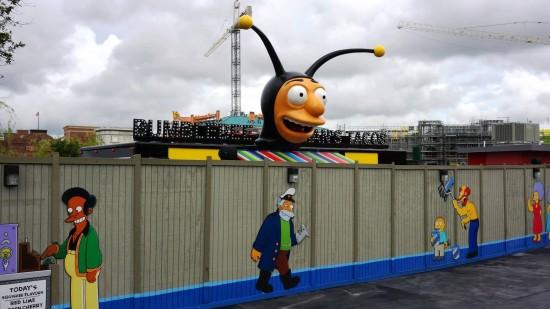 Bumblebee Man's Tacos at Universal Studios Florida.