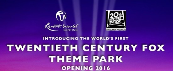 20th Century Fox theme park