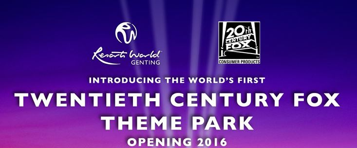 20th Century Fox announces new theme park in Asia, and what this