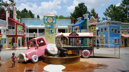 Curious George Goes To Town at Universal Studios Florida.
