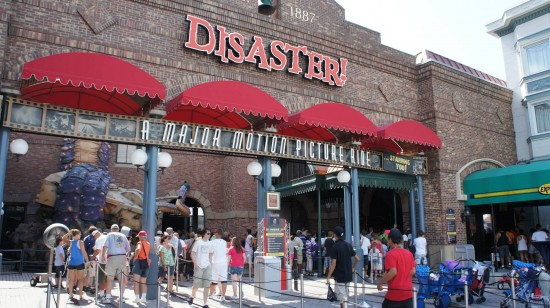 Disaster! at Universal Studios Florida.