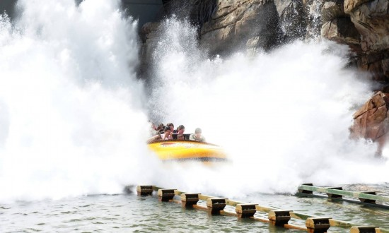 Jurassic Park River Adventure at Islands of Adventure.