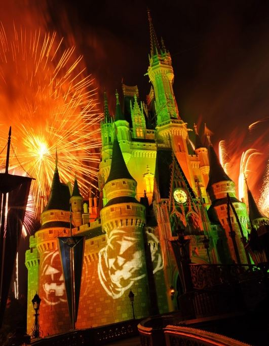 HalloWishes at Mickey's Not-So-Scary Halloween Party.