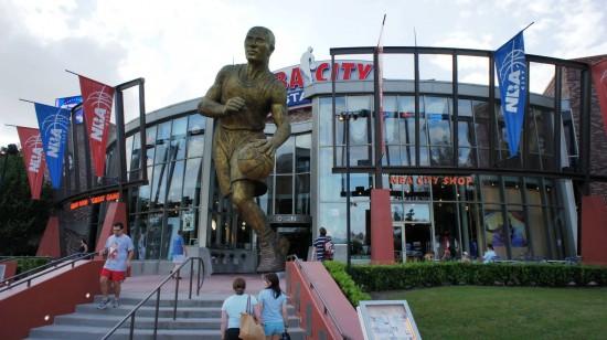 NBA City at Universal CityWalk.