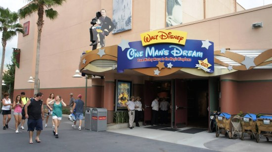 Walt Disney: One Man's Dream at Disney's Hollywood Studios.