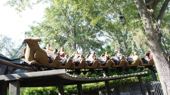 Flight of the Hippogriff at Islands of Adventure.