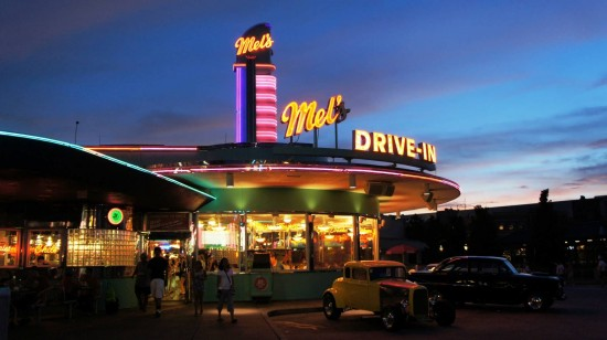 Mel's Drive-In at Universal Studios Florida.