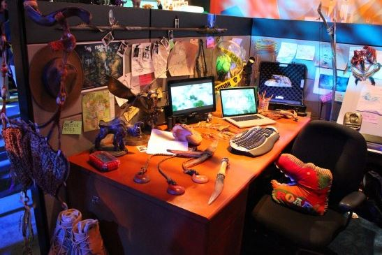"""Avatar """"office"""" at the D23 Expo."""