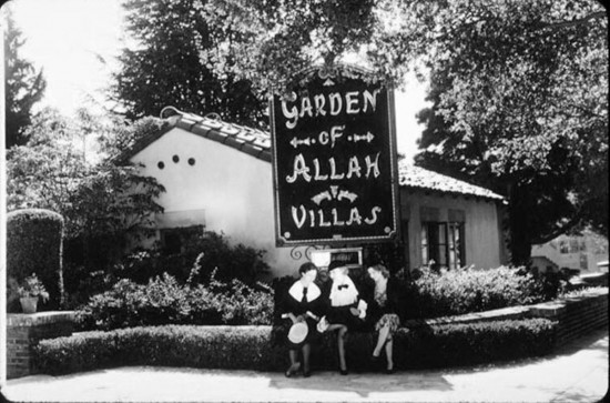 Garden of Allah Villas, circa 1930.