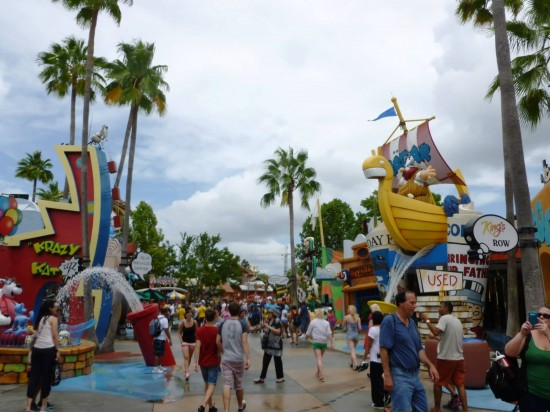 Islands of Adventure trip report - August 2013.