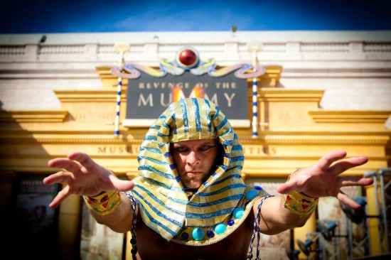 Revenge of the Mummy at Universal Studios Florida.