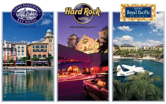 Universal Orlando On Site Hotels