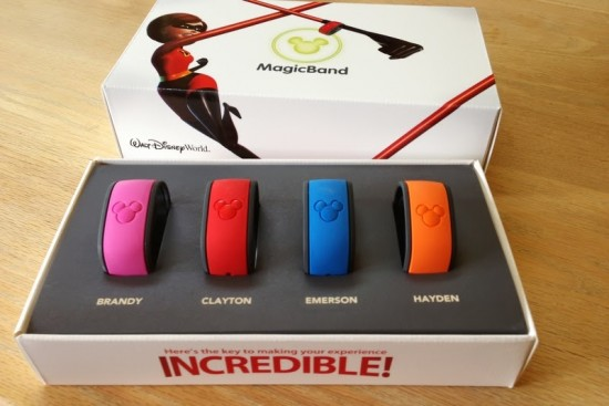 Disney MagicBands.