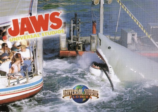 JAWS the ride at Universal Studios Florida