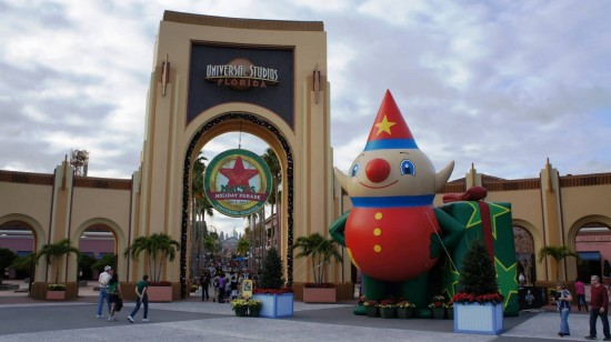 Holidays at Universal Orlando Resort.