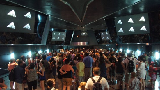 Inside Terminator 2: 3-D at Universal Studios Florida.