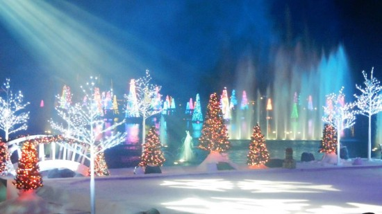 Christmas at SeaWorld Orlando.