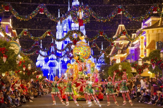 The holiday season at Walt Disney World.